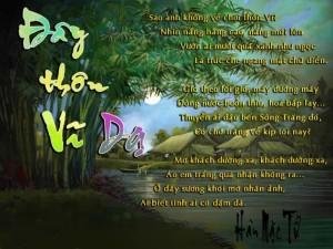 Cảm nhận khổ thơ thứ hai bài thơ Đây thôn Vĩ Dạ - Hàn Mặc TỬ